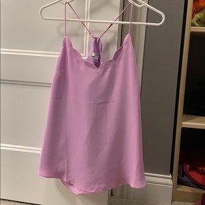 Jcrew Light Purple Cami Size 6
